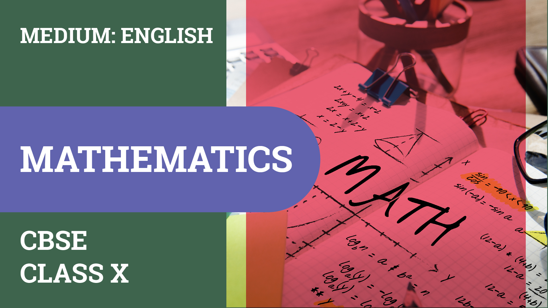 CBSE CLASS 10 MATHEMATICS VIDEO LECTURE
